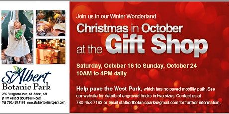 Christmas in October at the Gift Shop tickets