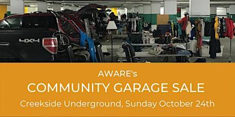 Community Garage Sale  - Seller Stall Tickets tickets