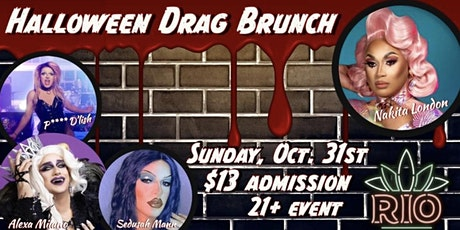 Rio Tacos & Tequila's Halloween Drag Brunch tickets
