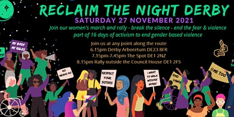 Reclaim The Night Derby tickets