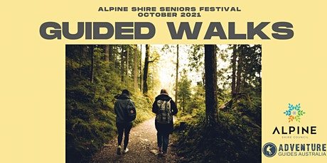 Seniors Festival: Guided Walks - 25th October tickets