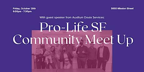 October Community Meet Up tickets