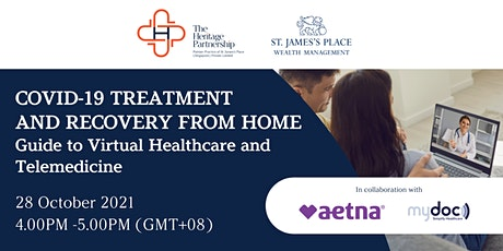 COVID-19 Treatment & Recovery at Home: Virtual Health & Telemedicine tickets