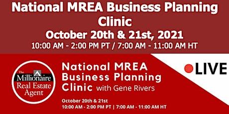 MREA Business Planning Clinic (Oct 20 &21) tickets