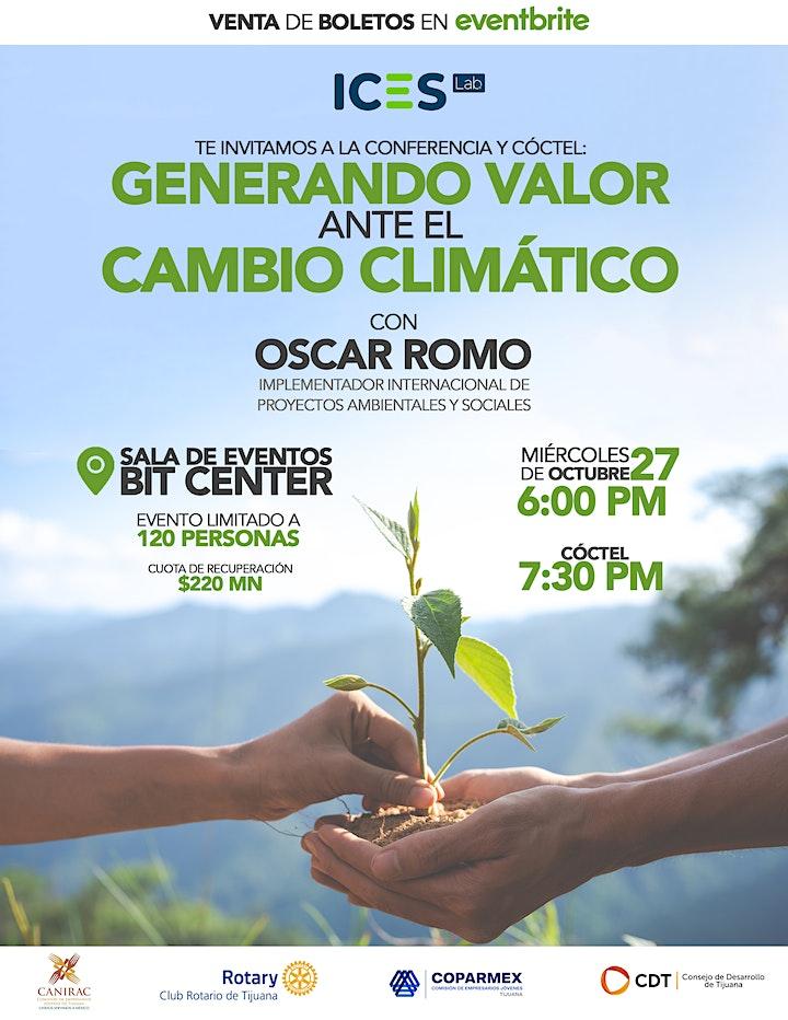 Imagen de Generando Valor ante el Cambio Climático - 27Oct -Tijuana - BitCenter -