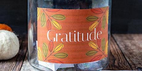 Gratitude Jar Making tickets