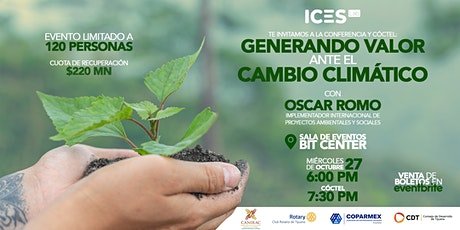Generando Valor ante el Cambio Climático - 19Oct -Tijuana - BitCenter - tickets