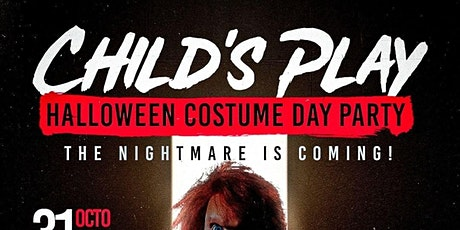 Child's Play Halloween Costume Day Party tickets