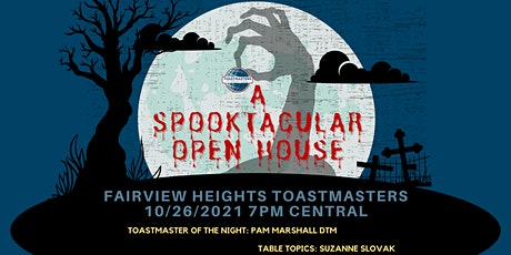 Fairview Heights Toastmasters Spooktacular Open House tickets