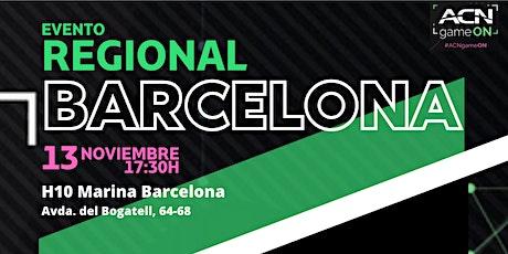 ACN Regional BCN Noviembre entradas
