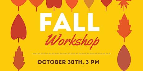 Montessori Fall Workshop by Pinnacle Academy tickets