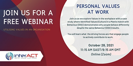 Learn about Personal Values assessments in the Workplace application tickets