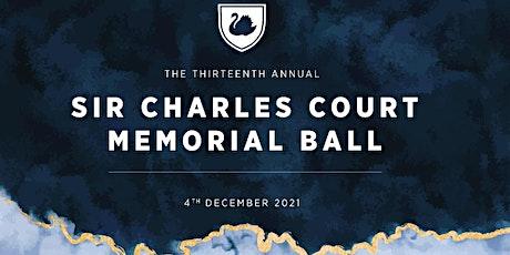 Sir Charles Court Memorial Ball 2021 tickets