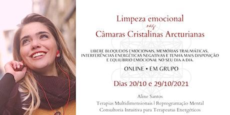 Limpeza Emocional nas Câmaras Arcturianas ingressos
