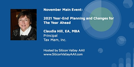 November Main Event: 2021 Year-End Tax Planning tickets