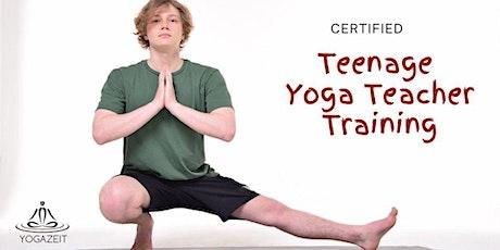 Certified Teens Yoga Teacher Training tickets