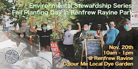 Environmental Stewardship Series - Fall Planting Day in Renfrew Ravine Park tickets