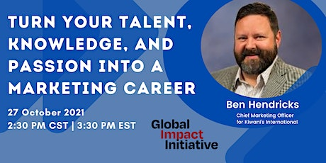 Turn your Talent, Knowledge and Passion into a Marketing Career tickets