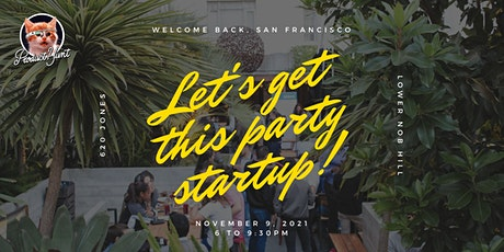 The Product Hunt November Night! (Let's Get This Party Startup!) tickets