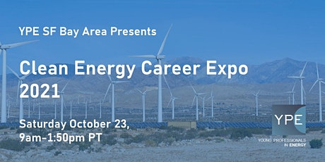 YPE SF Bay Area Clean Energy Career Expo 2021 (Pt 1) tickets