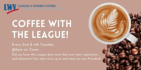 Coffee with the League of Women  Voters tickets