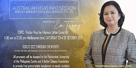 Australian Visas Info Session tickets