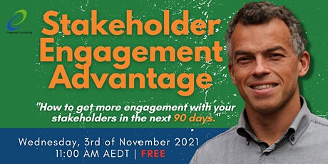 The Stakeholder Engagement Advantage tickets