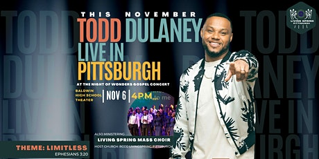 Night Of Wonders Concert Featuring Todd Dulaney tickets