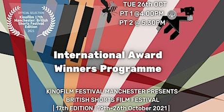 KINOFILM: International Award Winning Shorts Programme tickets