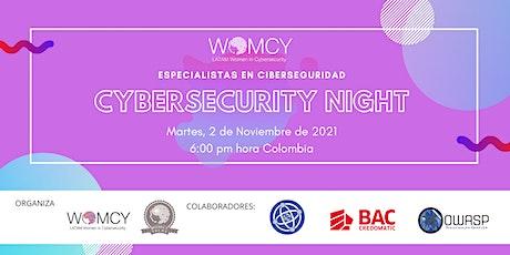 Cybersecurity Night tickets
