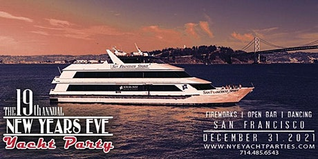 New Year's Eve Yacht Party- San Francisco, California tickets