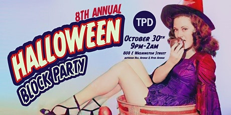 TPD 8th Annual Halloween Block Party tickets