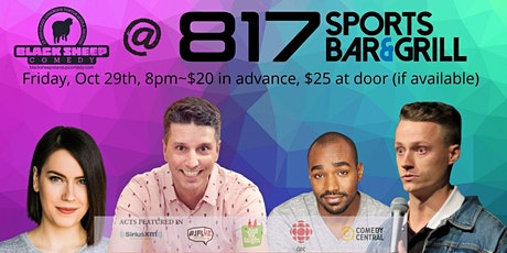 Black Sheep Comedy @ 817 Featuring TED MORRIS tickets