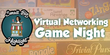 Virtual Networking Game Night tickets