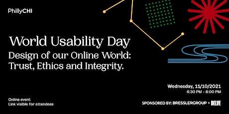 World Usability Day 2021 - Philadelphia tickets