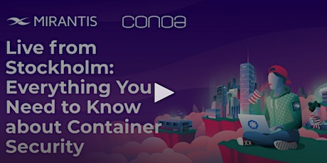 Everything you Need to Know About Container Security tickets
