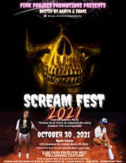 PINK PROJECT PROMOTIONS PRESENTS SCREAM FEST 2021 tickets