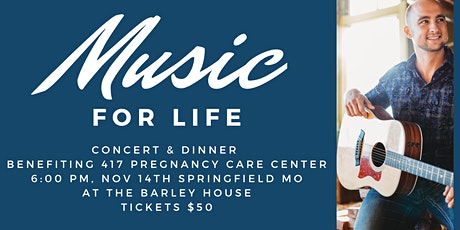 Music For Life tickets