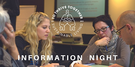 To Thrive Together Sustainable Living Free Information Night tickets