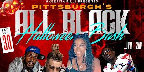 PITTSBURGH'S ALL BLACK HALLOWEEN BASH! tickets