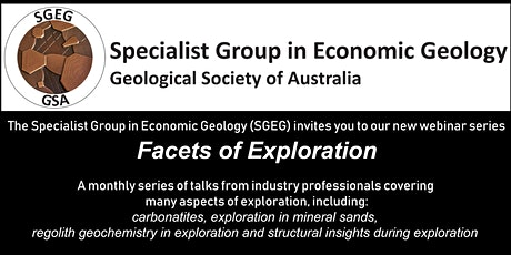GSA Specialist Group in Economic Geology Facets of Exploration Nov Webinar tickets