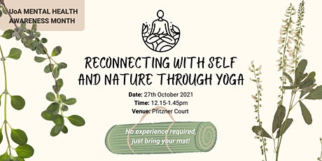 Reconnecting with Self and Nature through Yoga tickets