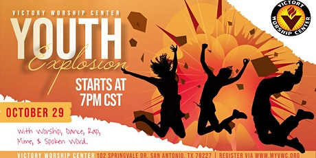 Victory Worship Center - YOUTH EXPLOSION! tickets