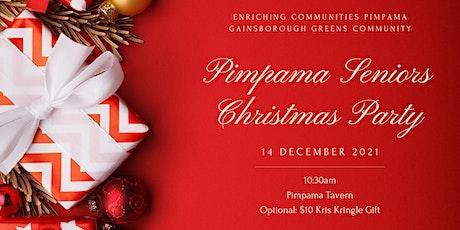 Pimpama Seniors Christmas Party 2021 tickets