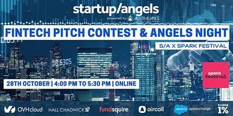 Fintech Pitches & Angels night X Spark Festival tickets