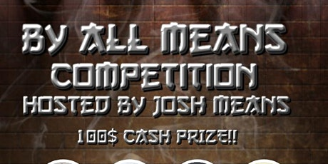By All Means Comedy Competition tickets