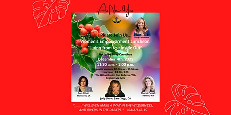 """Women's Empowerment Luncheon  """"Living from the Inside Out"""" tickets"""