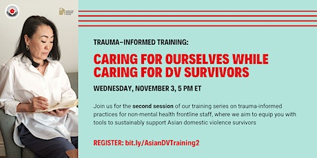 Caring for Ourselves While Caring for DV Survivors tickets