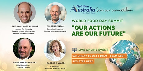 Our Actions Are Our Future: World Food Day Summit tickets
