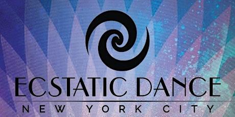 Ecstatic Dance Brooklyn! Dancegiving tickets